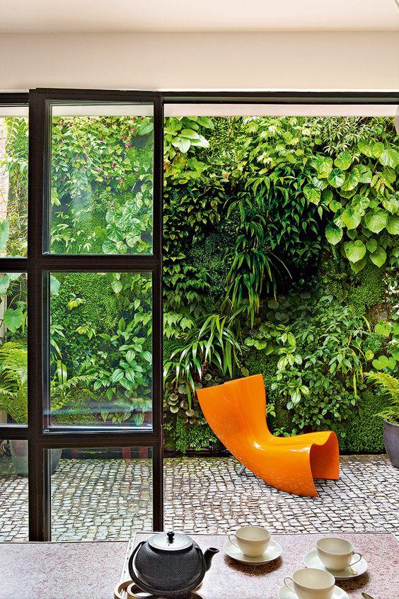 Jardines Verticales En La Decoracion De Interiores Luciana Sanchez