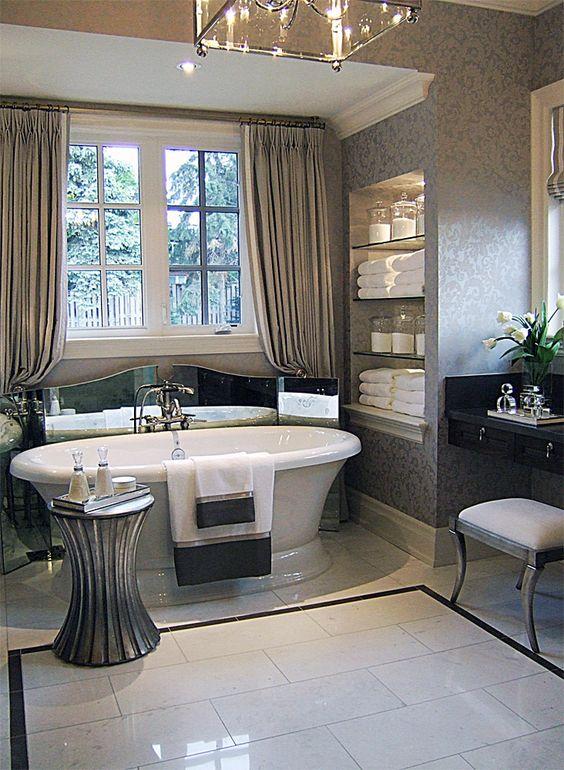 baño con glamour