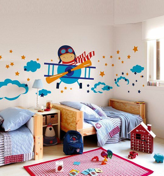 Ideas para decorar las paredes de los dormitorios for Decorar paredes dormitorio juvenil