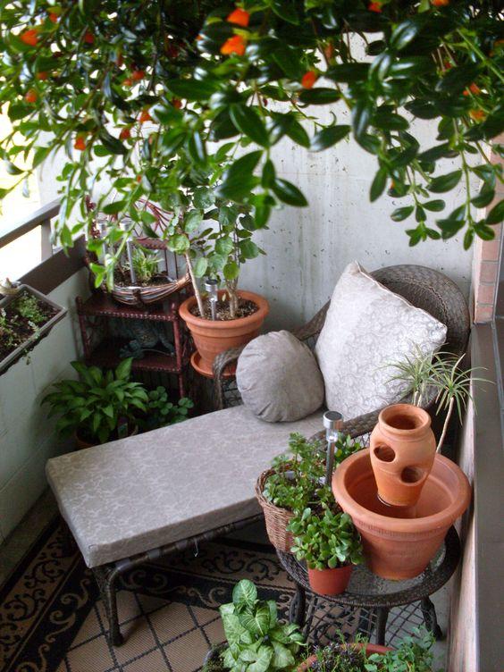 tumbona terraza