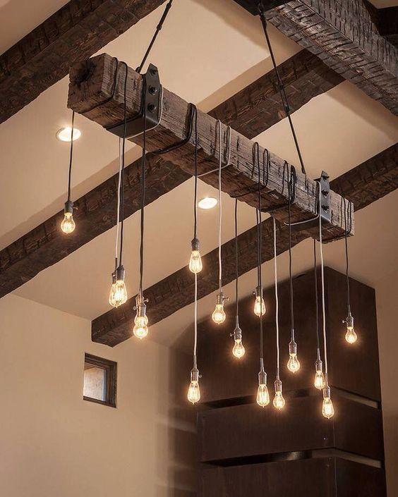 lámpara medieval