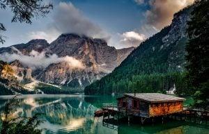 casa en lago