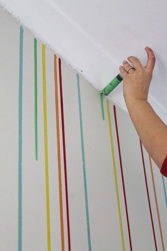 Formas De Pintar Paredes.Ideas Diy Para Pintar Las Paredes De Tu Casa De Una Forma Original